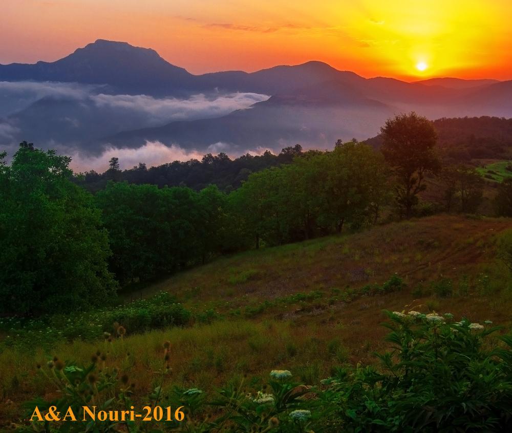 sunrise of afratakhteh