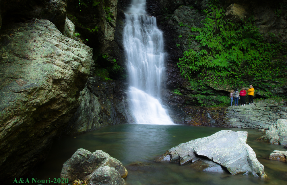 dudvazan waterfall