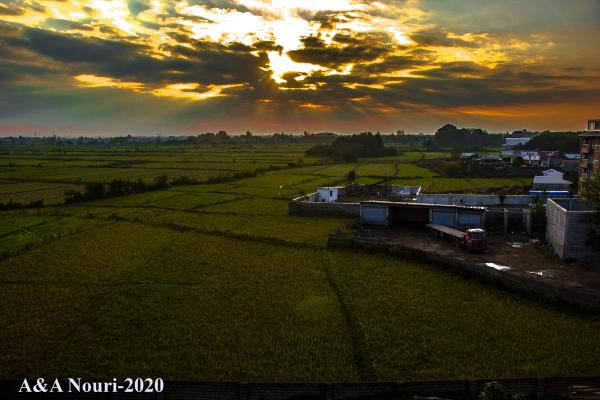 sunrise of the north