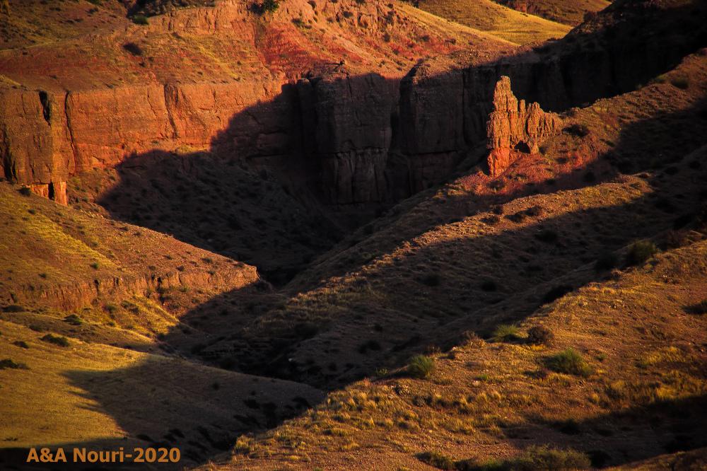 Mars shadows
