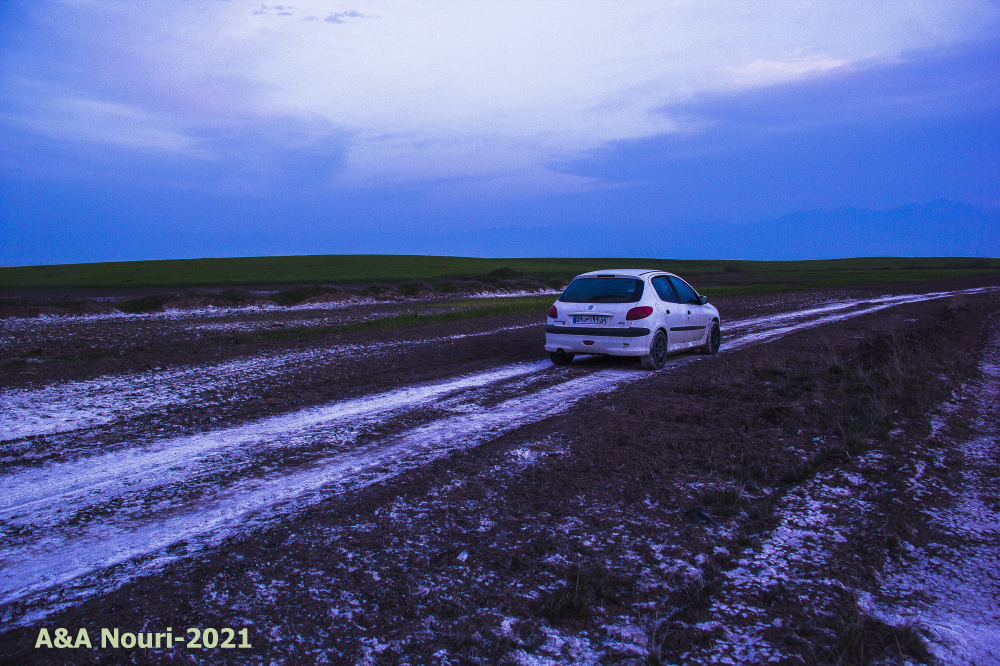 drive on salt road