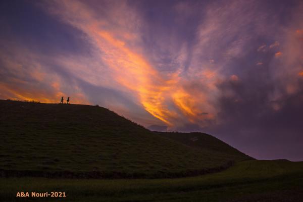 walk on the sunset edge