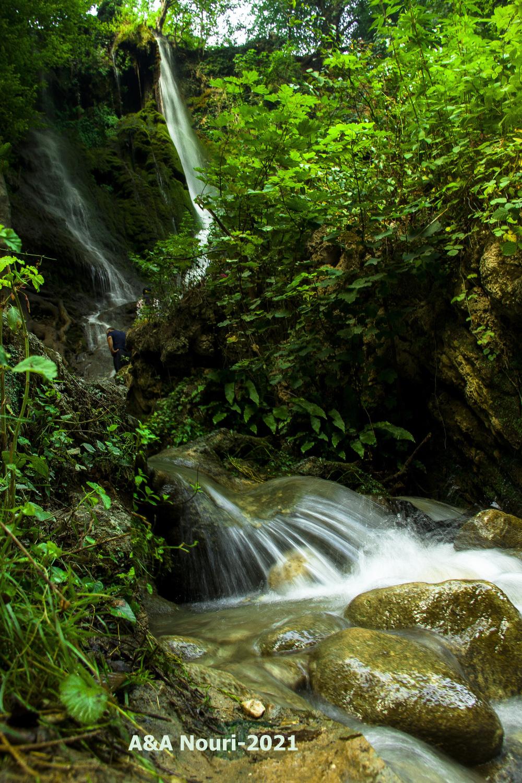 bent waterfall