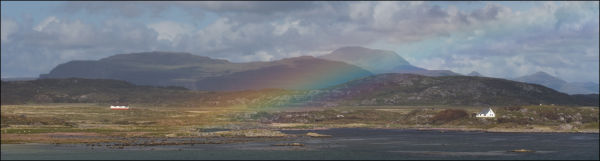 rainbow in mull ben more