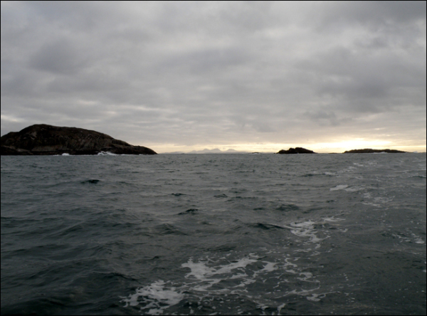 looking from the sound of iona to jura