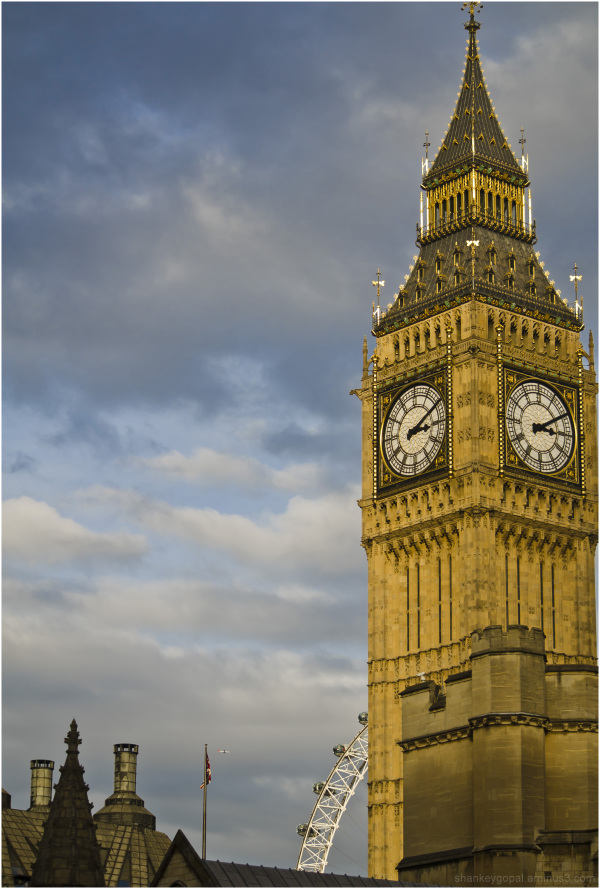 The Big Ben and London Eye