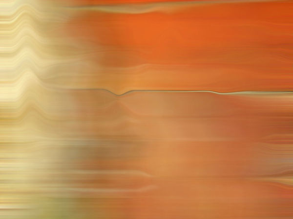 abstract sunset