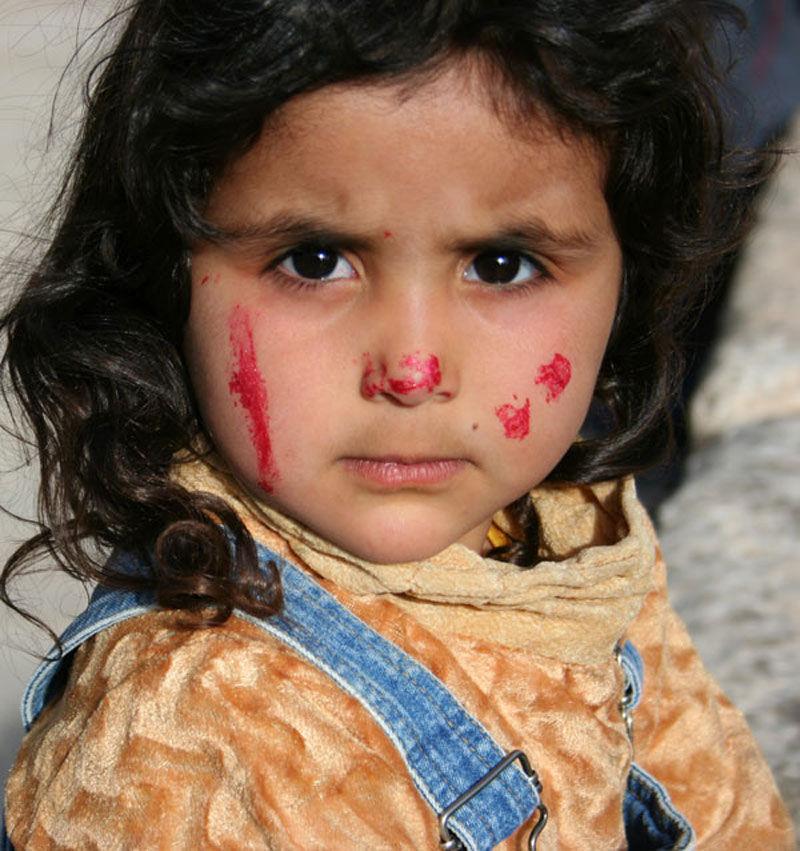 portrait little girl