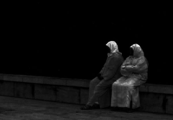 two women in Marocco
