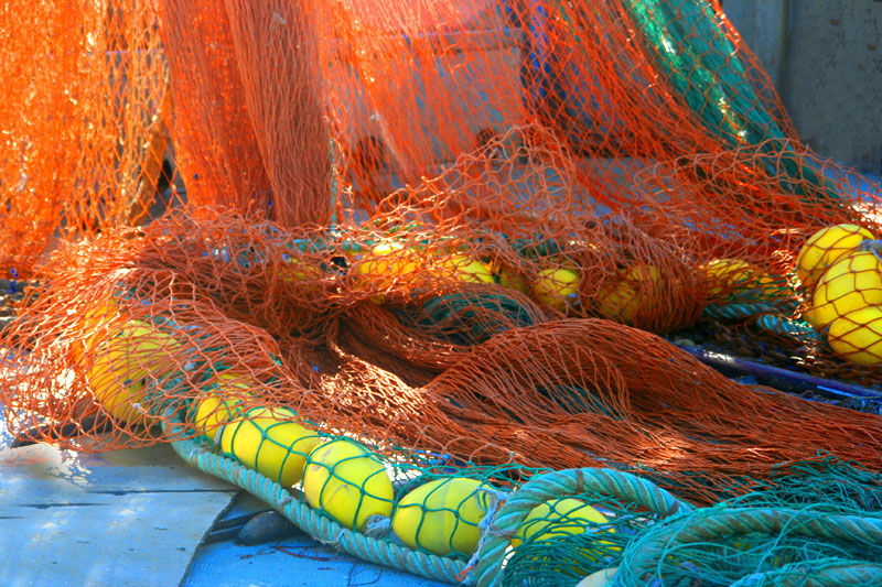 colours and fishing nets