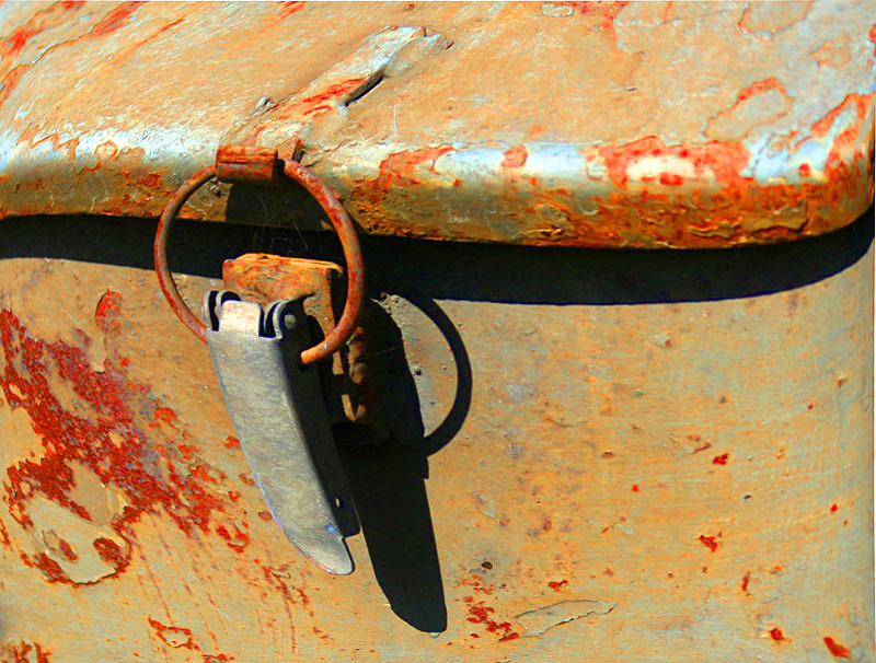 rusty letterbox