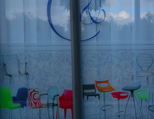 shop-window reflection