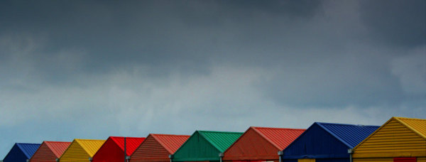 Colourful warehouses