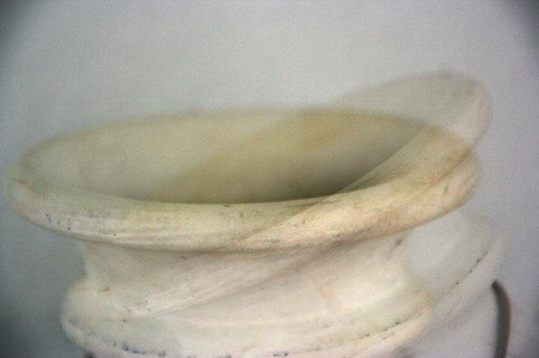 white curves