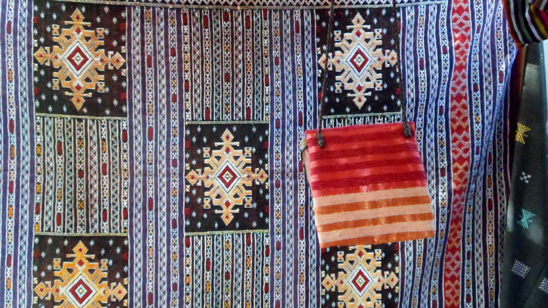 textures of Morocco