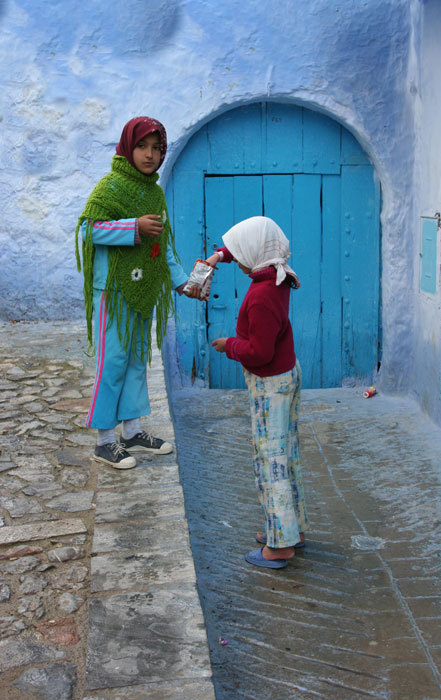 Girls in Morocco