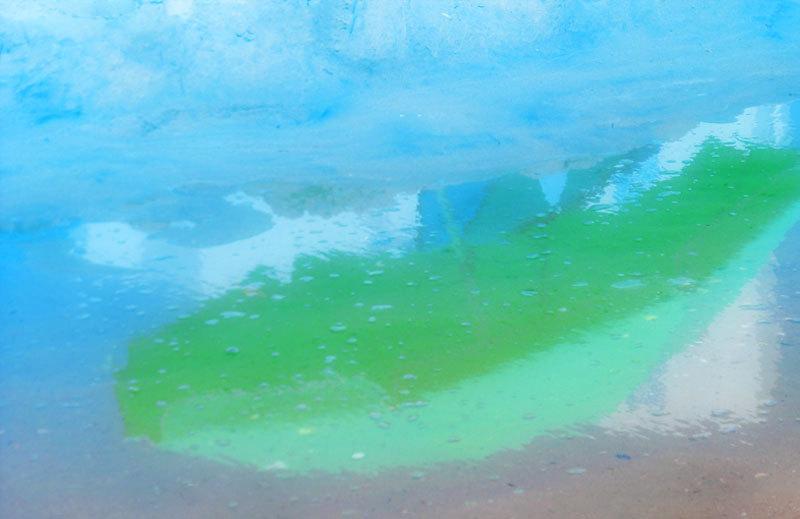 reflets reflections abstract