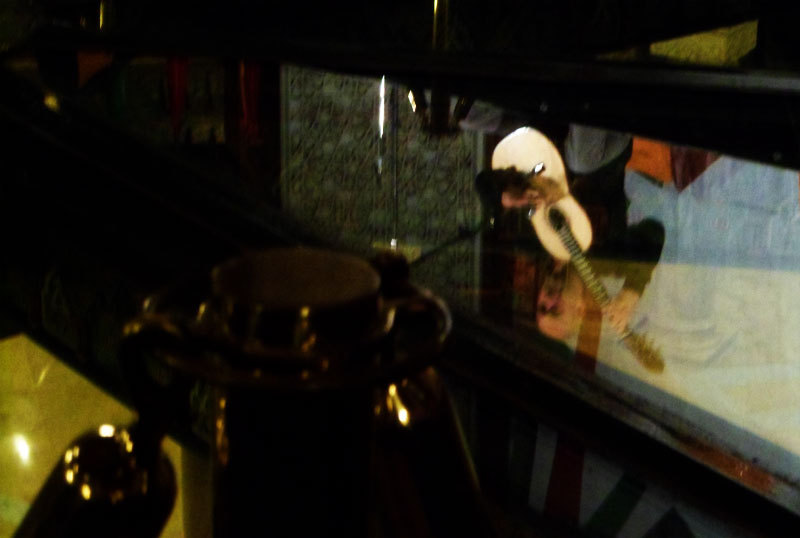 musician reflection concert