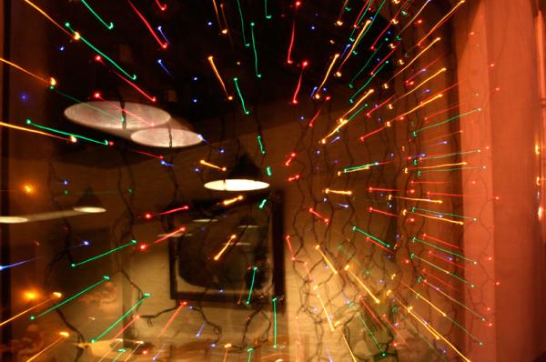 Shop window Seville downtown