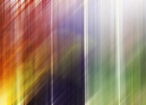 abstract with colourful lines