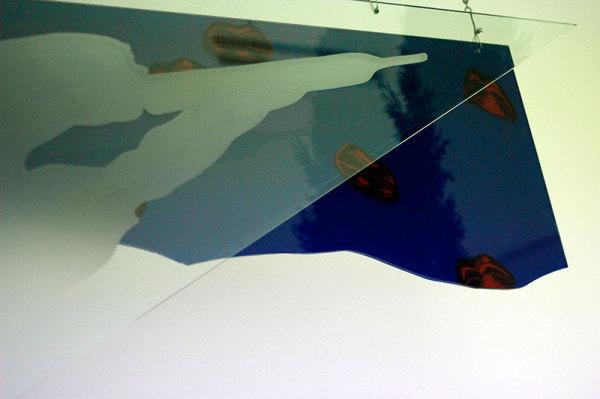 Glass artwork by artist Nacho Criado