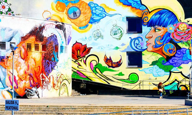 graffiti street art colours