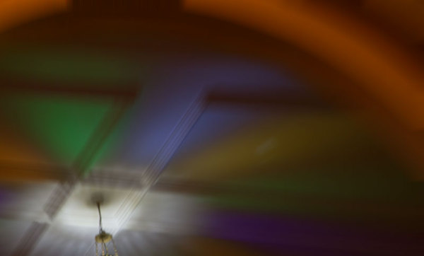 abstract light colours ceiling