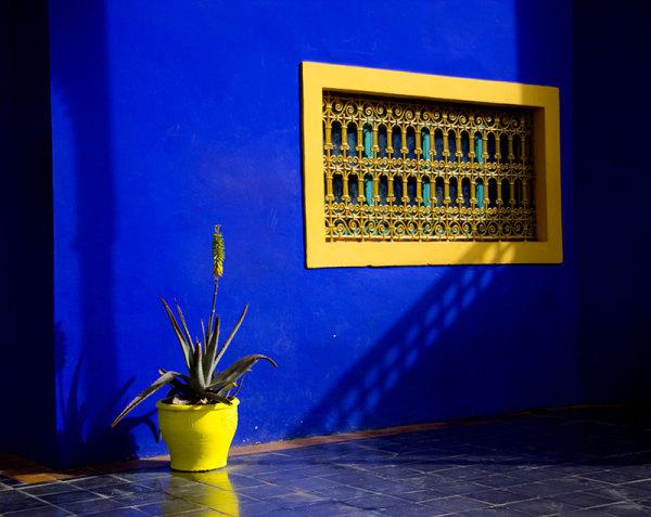 Jardin Majorelle Marrakech Maroc
