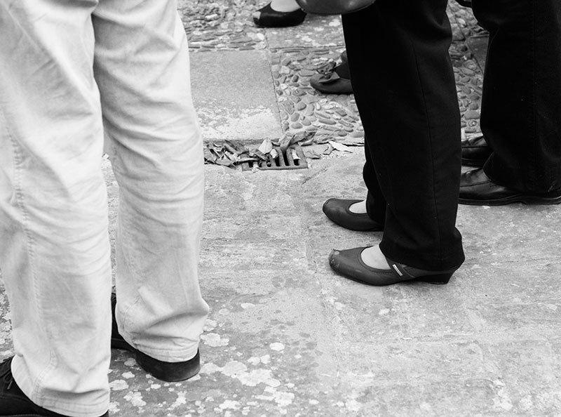 people feet legs shoes