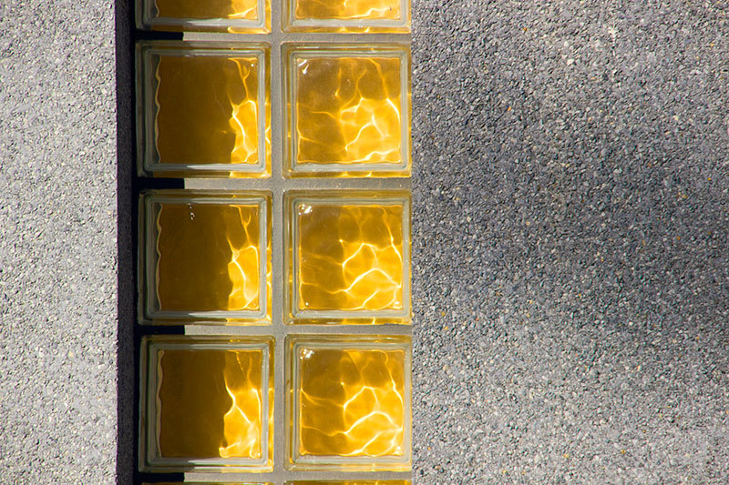 yellow shiny window