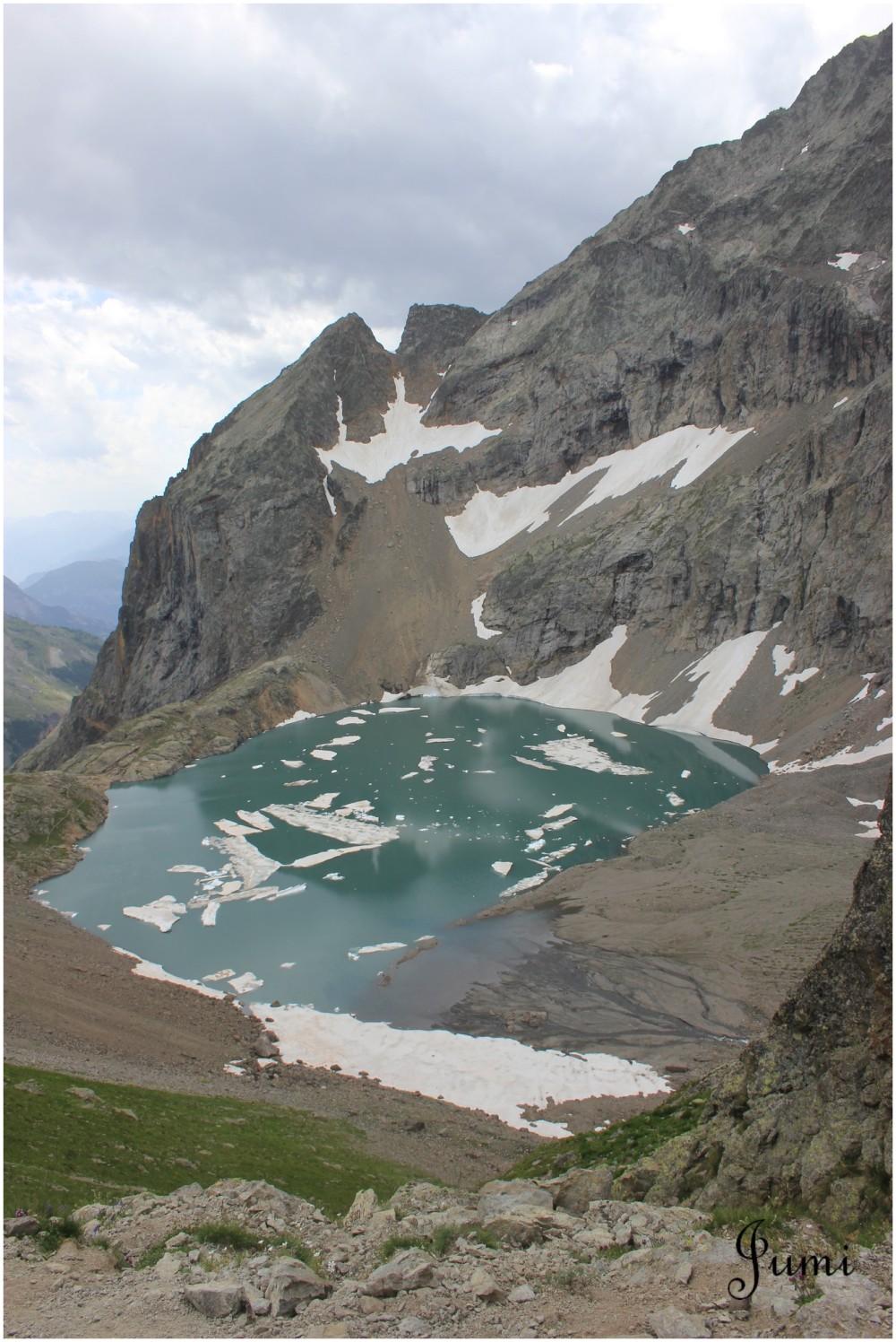 Le lac d'Eychaudat