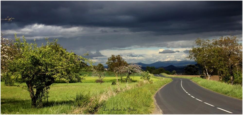 Sur les routes d'Auvergne