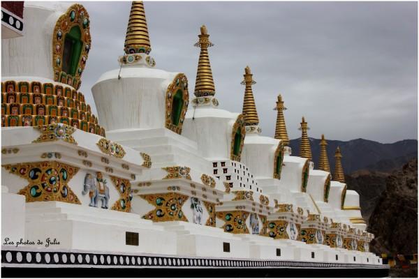 Les 7 stupas
