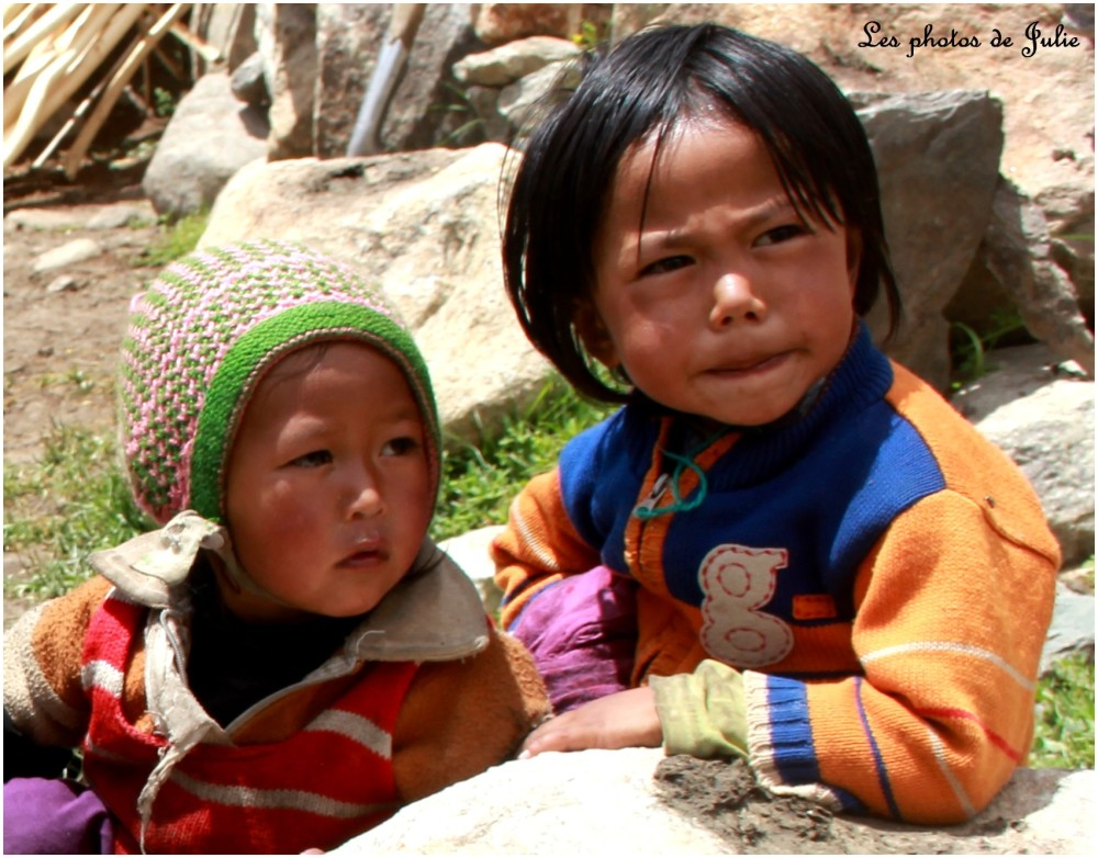 Enfants de l'Himalaya