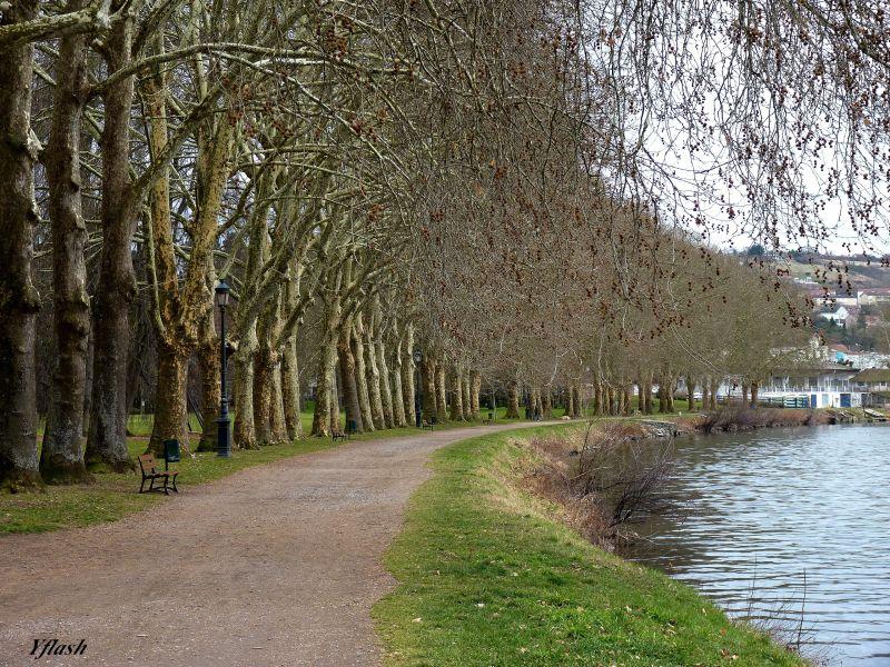 Promenade au bord de l'Allier
