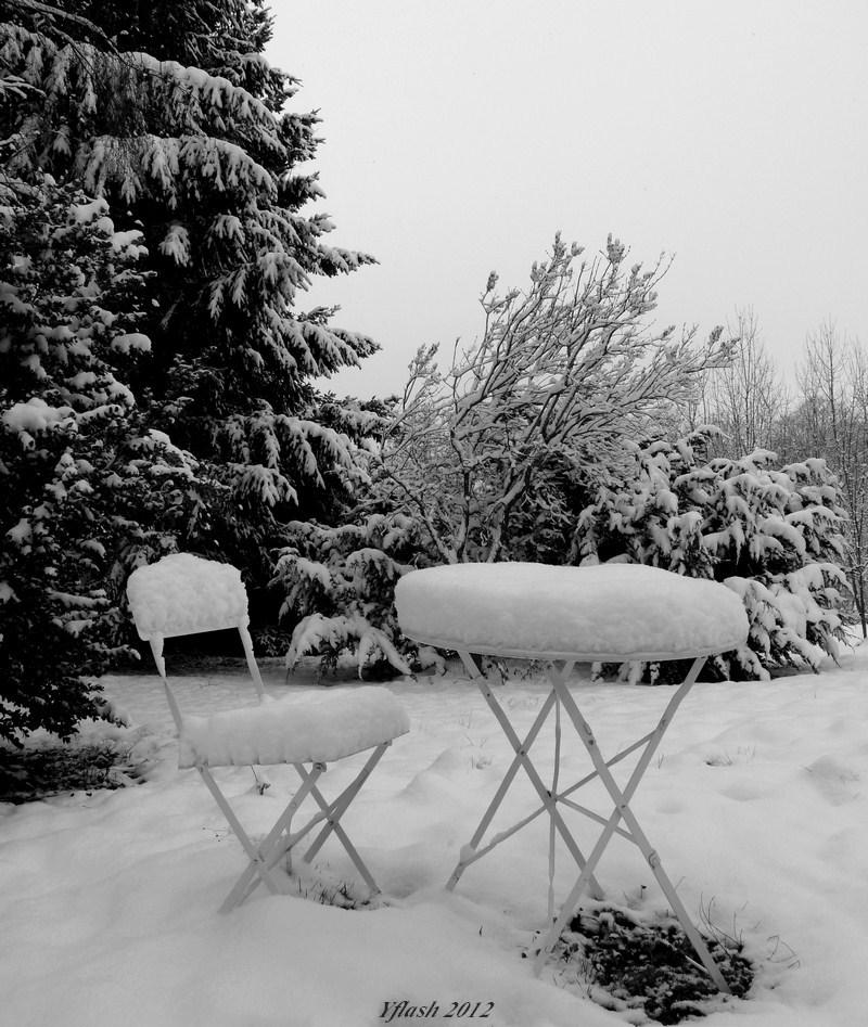La neige s'invite...