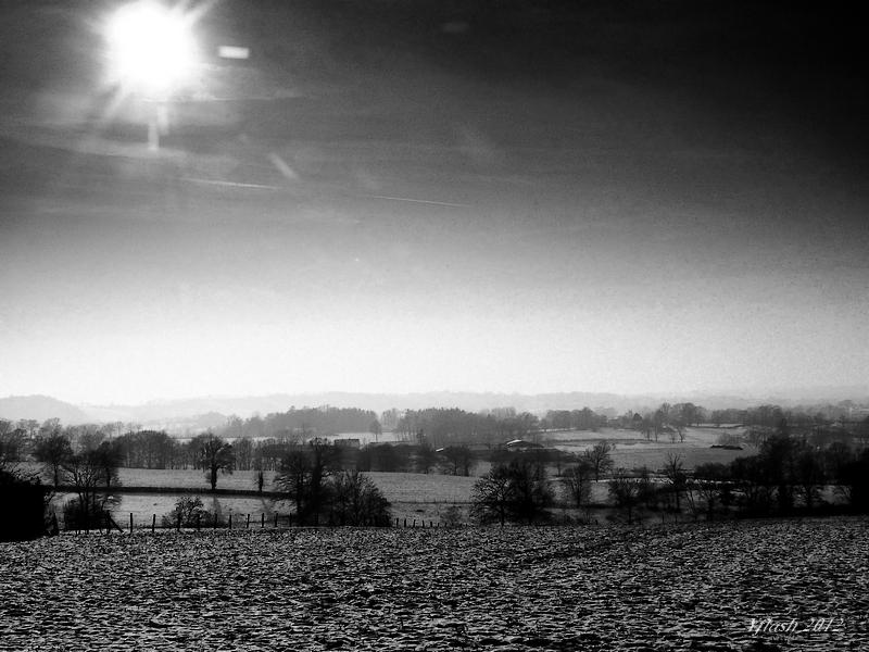 Soleil d'hiver.