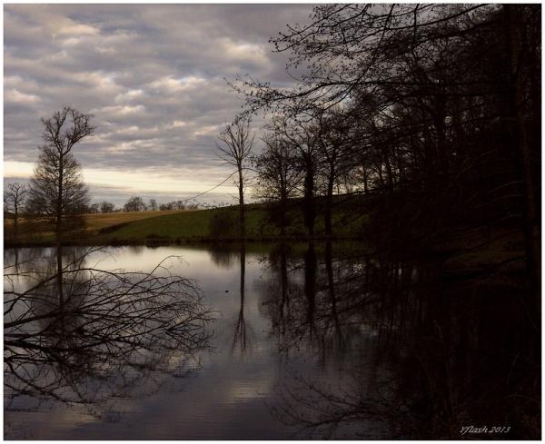 18h30... L'étang s'endore