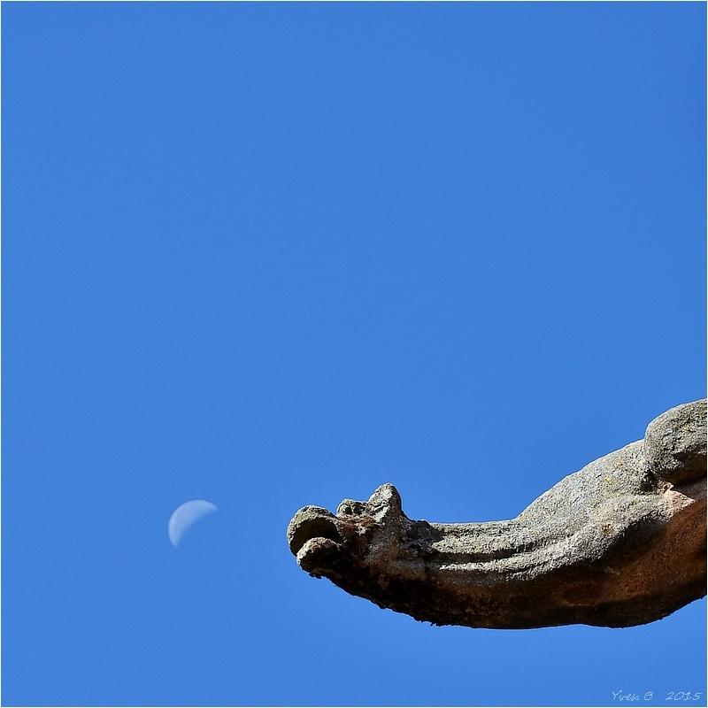 Happer la lune