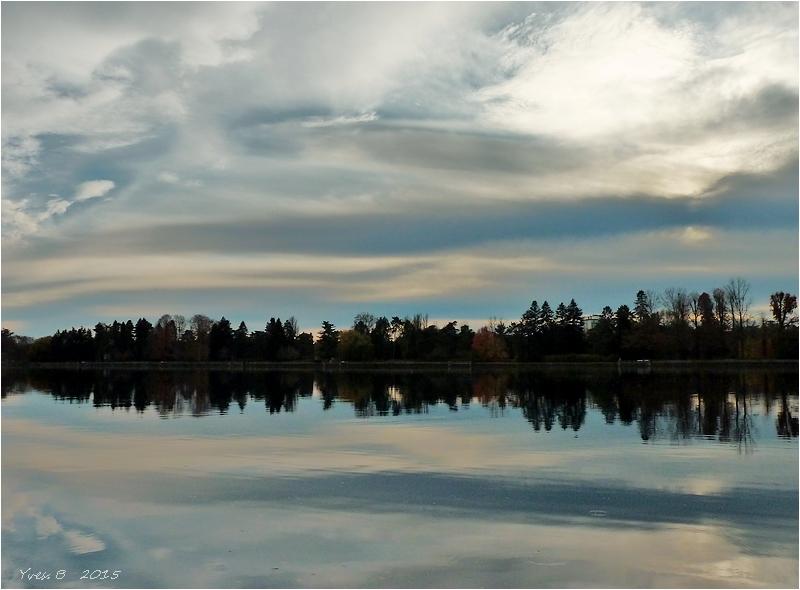 Entre le ciel et l'eau