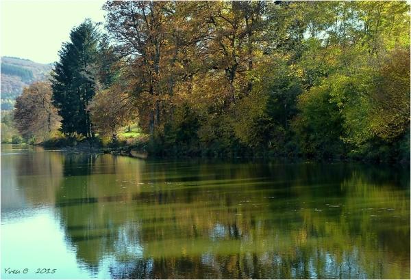Les reflets du lac