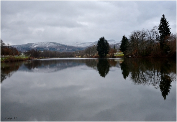 L'hiver sur le lac