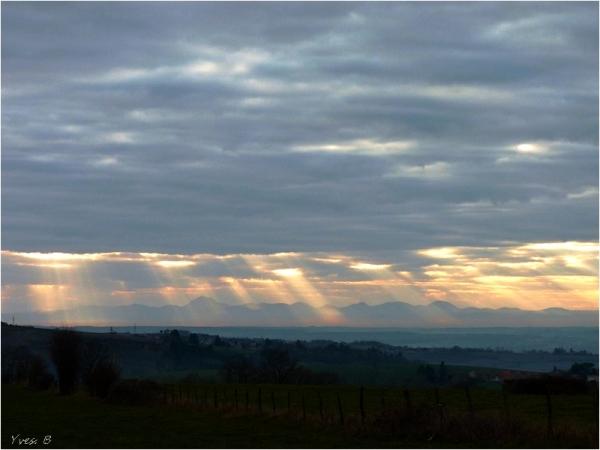 Une pluie de lumière