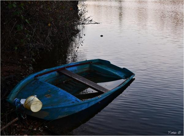 La barque bleu