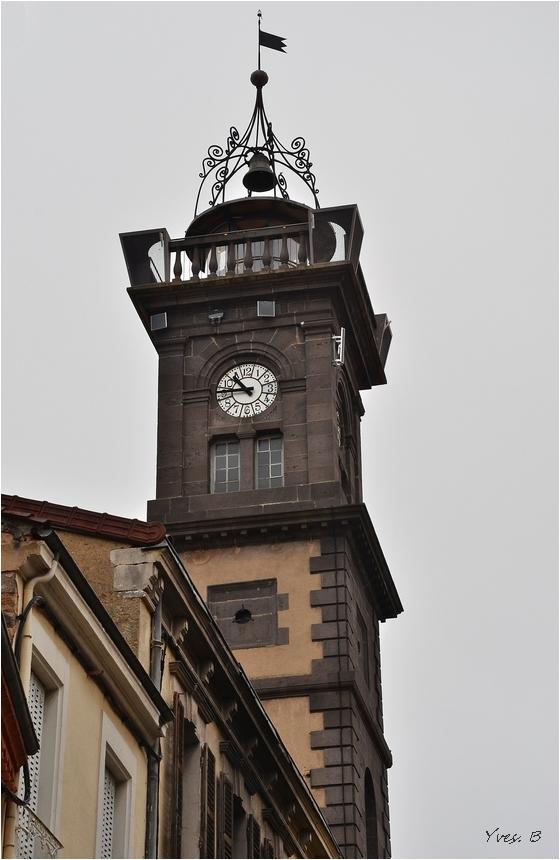 La tour de l' horloge