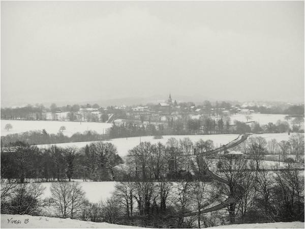 Paysage neigeux
