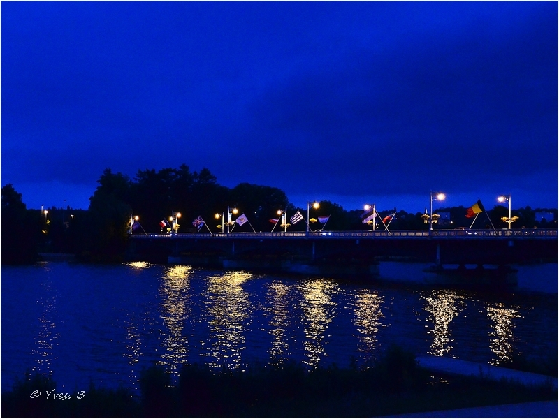 Lumière sur le pont