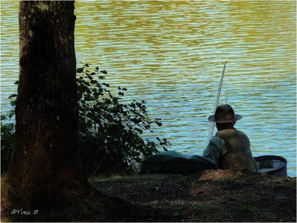 Le pêcheur tranquille