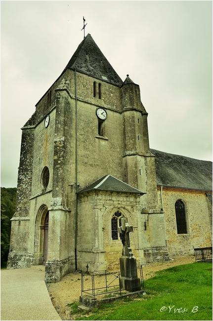 Le Bec de Mortagne (l'église)