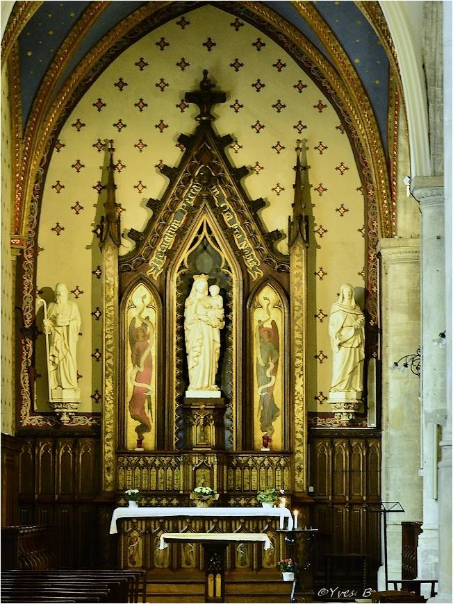 Eglise St-Etienne (vierge)